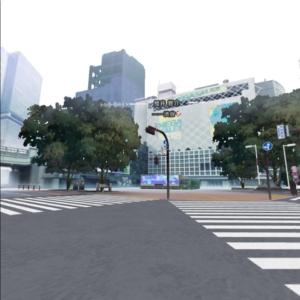 東京クロノス 誰もいない渋谷