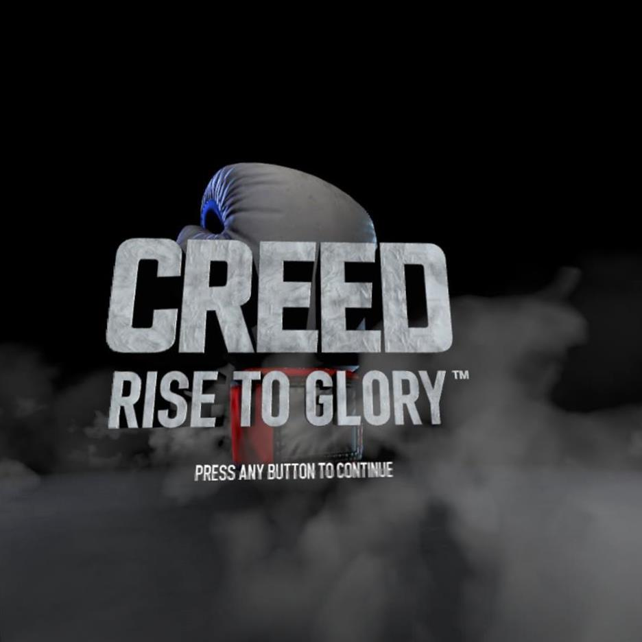 CREED RISE TO GLORY title