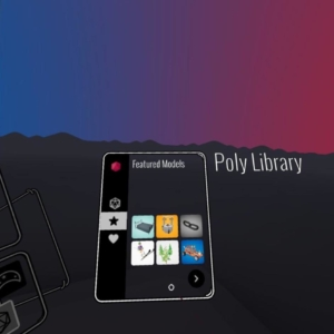 Tilt brush Poly Library