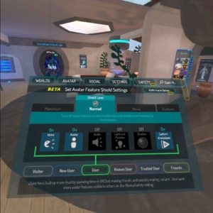 VRchat Menu Safety