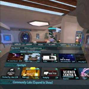 VRchat Menu World