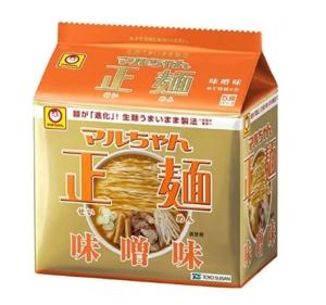 まるちゃん正麺味噌